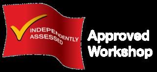 approved workshop logo